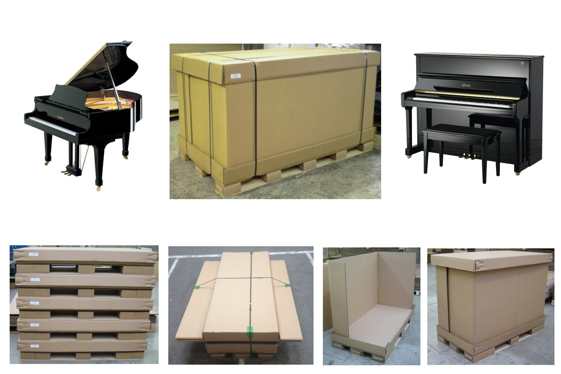 Caisse piano 1 bailly d m nagements d m nageur depuis 1830 for Garde meuble piano